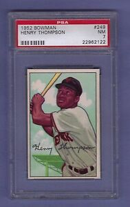 1952-BOWMAN-BASEBALL-CARD-249-HENRY-THOMPSON-PSA-7-NM