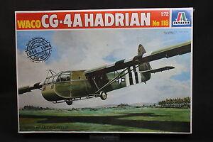 XX085-ITALERI-1-72-maquette-avion-planeur-118-Waco-CG-4A-Hadrian-50-Th-D-Day
