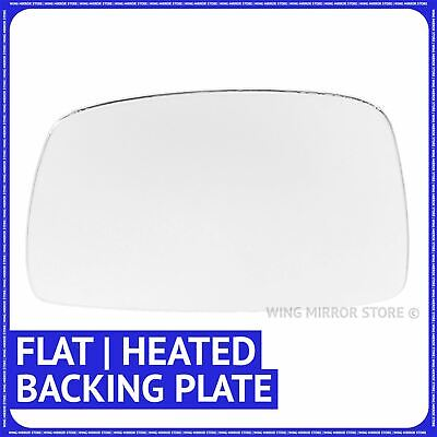 Left Passenger side Flat Wing mirror glass for Ford S-Max 2006-2015 heat plate