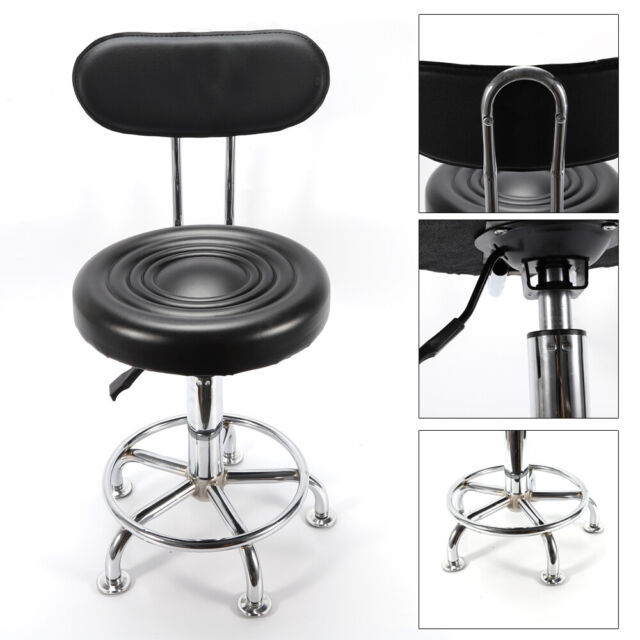 Admirable Adjustable Hydraulic Garage Work Shop Chair Seat Swivel Stool W Backrest Sale Machost Co Dining Chair Design Ideas Machostcouk
