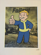 Fallout 4 - Vault Boy - Hand Drawn & Hand Painted Cel