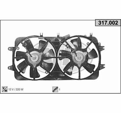 Mazda MX5 NA Kühlerlüfter Ventilator Kühler Lüfter