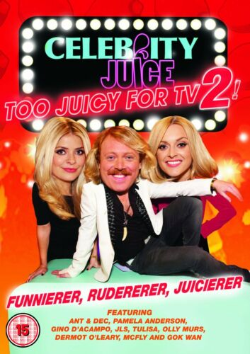 1 of 1 - Celebrity Juice - Too Juicy For TV 2 (DVD)