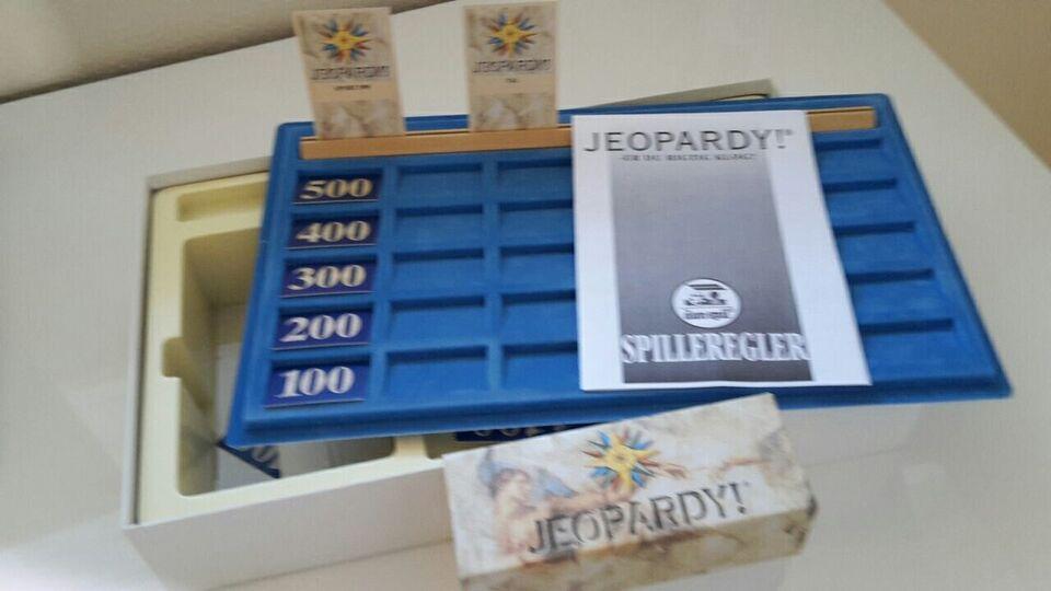 Jeopardy, Paratviden, huskespil