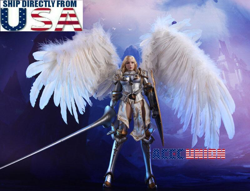 1 6 Lucifer alas del Alba Arcángel sin costuras Hembra Figura De Acción Conjunto de Lujo EE. UU.
