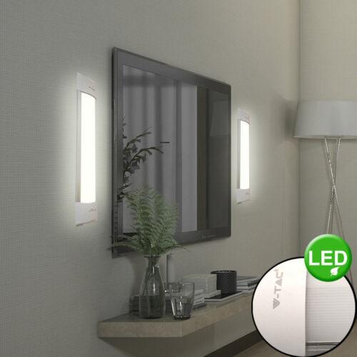 2x LED Wand Leuchten weiß Flur Spiegel Beleuchtung Wohn Zimmer Samsung Lampen
