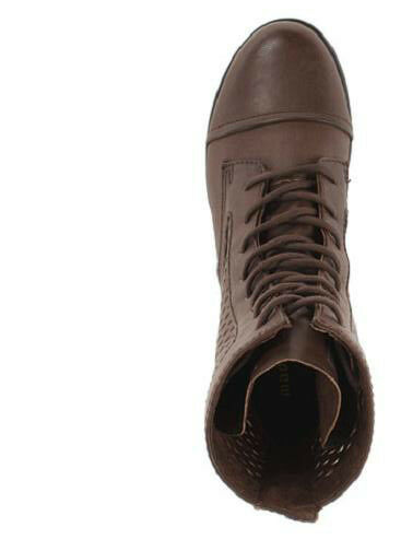 Madden Girl brown Addyson ankle boot lace up brown Girl 7 Med NEW 641521