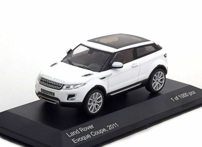 Whitebox 1 43  LAND  ROVER EVOQUE COUPE  2011 LIMITED 1000 PCS