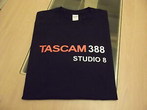 RETRO-REEL-TO-REEL-STUDIO-8-TASCAM-388-T-SHIRT-DESIGN-S-M-L-XL-XXL