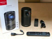Anker Nebula Capsule Smart Projector,Pocket Cinema W/Wi-Fi,DLP,360°Speaker