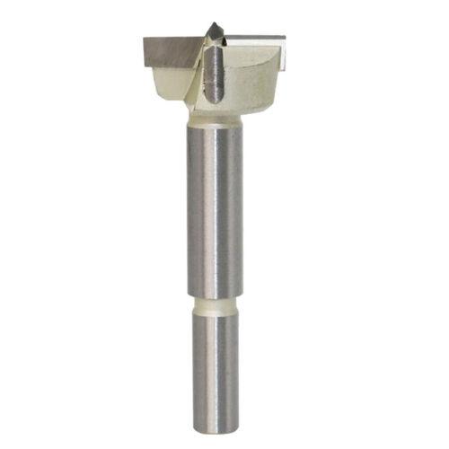 +10mm Shank Forstner Wood Drill Bit Hole Cutter 15-50mm Cutter Dia