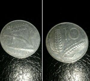 Italia-moneta-Repubblica-del-1969-10-lire
