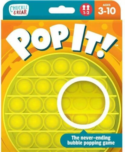 """《NEW》Chuckle and Roar /""""POP IT!/"""" The Take Anywhere Bubble Popping Gam ages 3-10!"""
