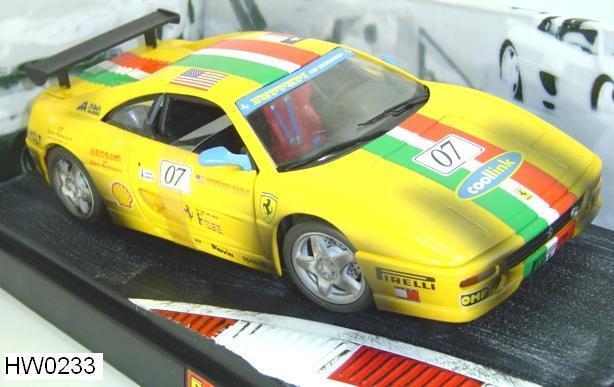 precio al por mayor Ferrari F355 Challenge Challenge Challenge  07 Amarillo 1 18 por Hot Wheels Racing sucio Envío Gratuito  compras de moda online
