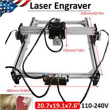 110 240v Laser Engraver Desktop Diy Cnc Printer Engraving Machine Kit Us Plug