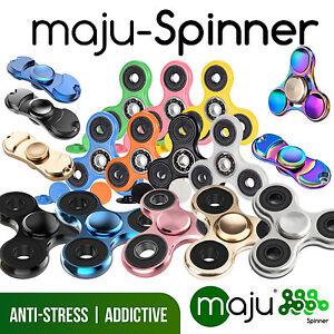 Maju-mano-Spinner-dedo-Spinner-trompo-anti-Fidget-anti-estres-TDAH-edc