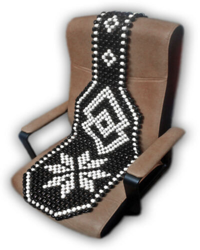 Bead Beaded Massage Wood Wooden Car Office Home Chair Front Seat Cover Cushion