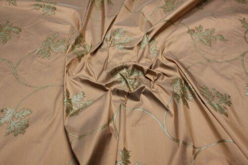 Dupion seda brillo floral blusa vestido bufanda capa noche vestido de sustancias Silk