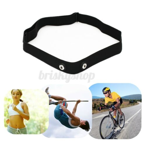 Adjustable Chest Strap Heart Rate Monitor Band Sport Fitness For Polar Wahoo UK