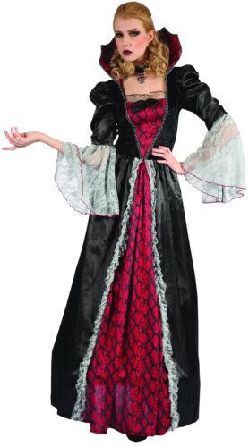 Verkleidung Vampir für Damen rot Cod.270802