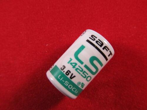 3,6 Volt Batterie CR1//2AA Saft LS 14250 Lithium