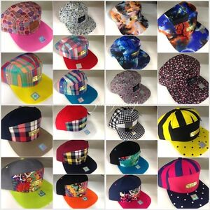 a9a57eb8d31 Image is loading 5-amp-7-panel-snapback-caps-strap-back-