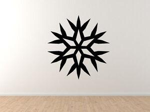 Snowflake-Pattern-7-Winter-Art-Christmas-Decoration-Vinyl-Wall-Decal-Decor