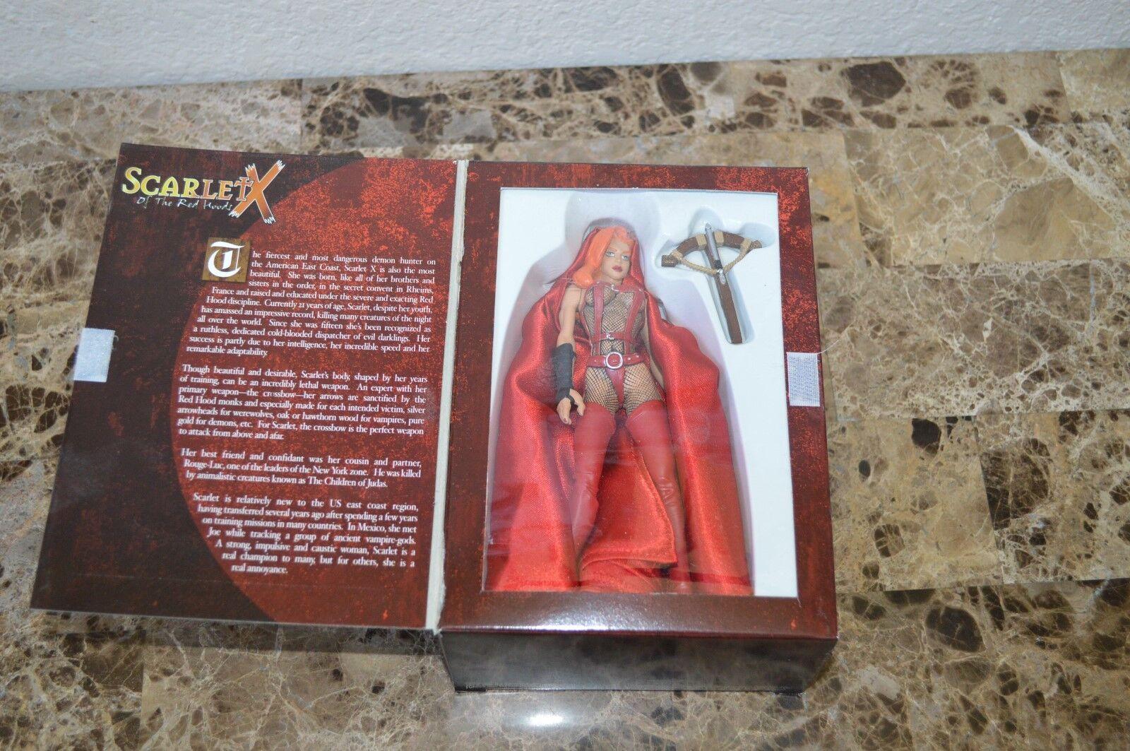 1999 Crimson Scarlet X Rot Hauben 6   Figur Humberto Ramos Cliffhanger