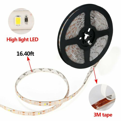 Warm White Solar LED Flexible And Cuttable Waterproof String Lights 16.4 ft