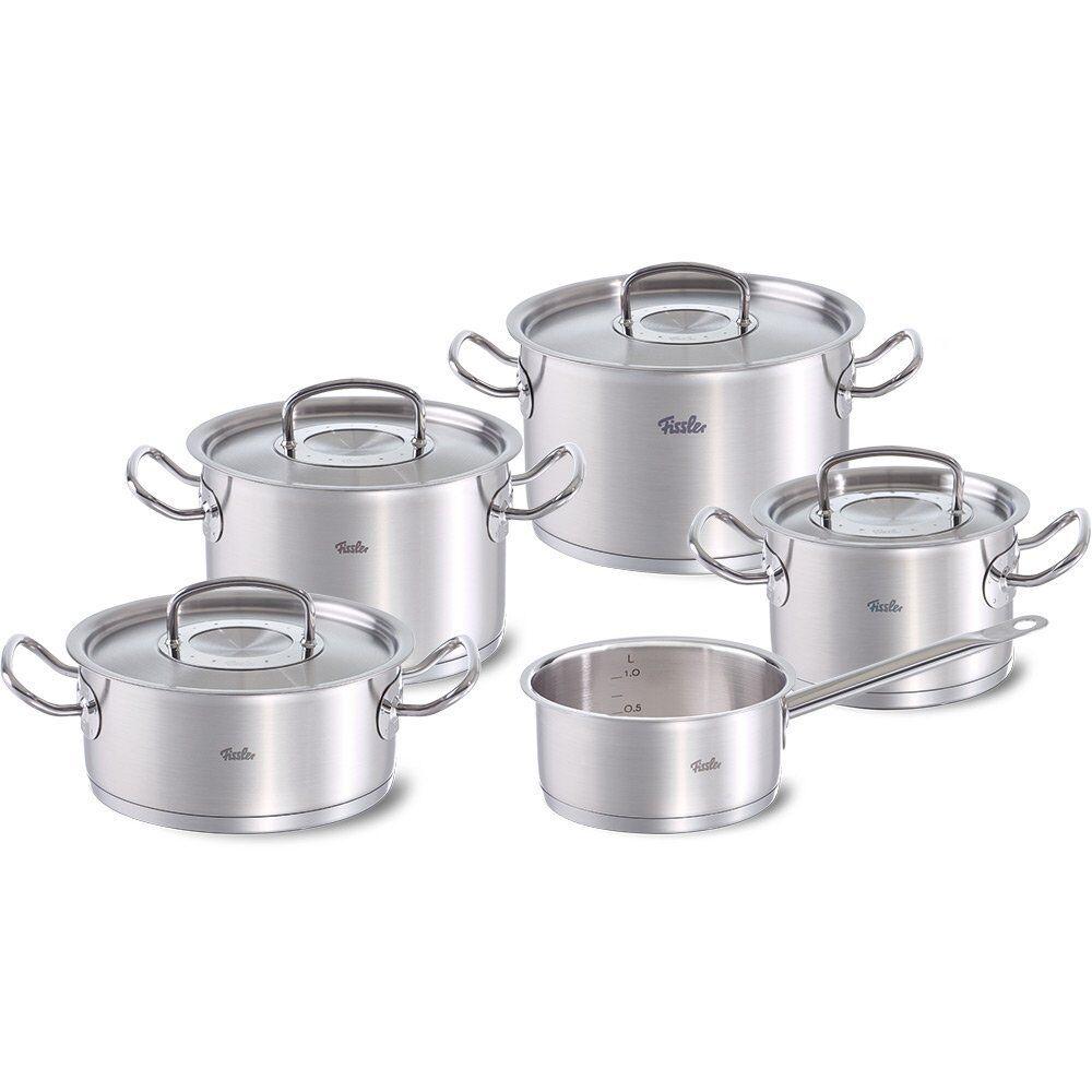 Fissler casseroles Orig. Professionnel collection 5 pièces métal couvercle cookstar induction