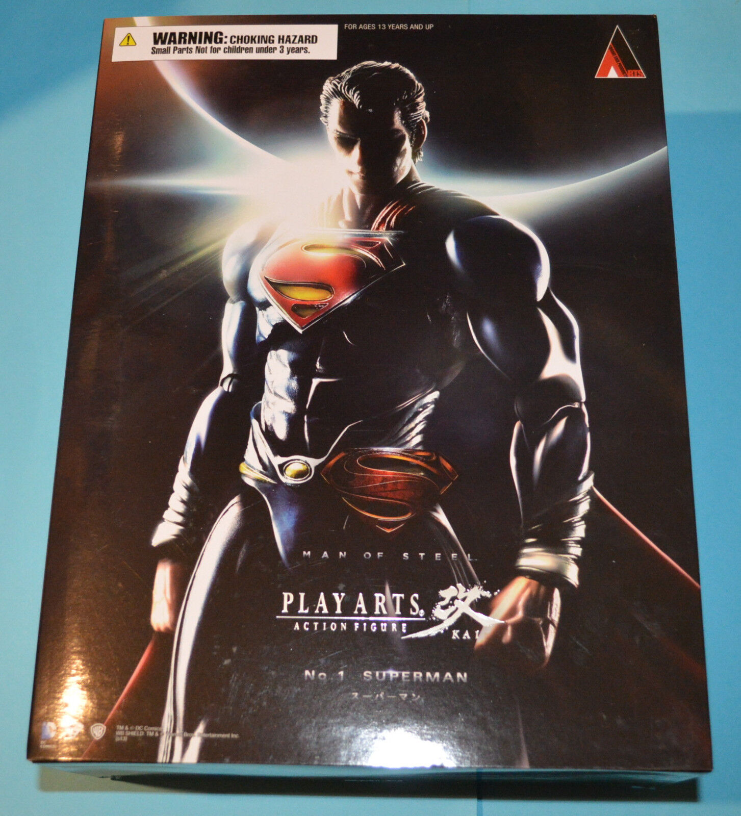 Official Square Enix Man of Steel Play Arts Action Figure Kai 9