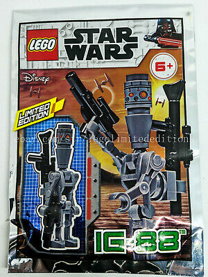 NEW ORIGINAL LEGO STAR WARS Limited Edition IG-88 911947 Foil Pack Sealed