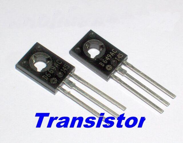 10pcs 2SB649 B649A B649AL + 10pcs 2SD669 D669A D669 Provide Tracking Number