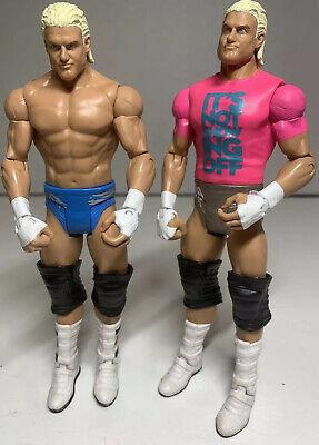 Toys R Us Exclusive WWE Mattel BOPPV Dolph Ziggler BAF Teddy Long Series