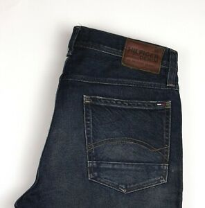 Tommy-Hilfiger-Hommes-Jeans-Jambe-Droite-Taille-W34-L30-ARZ473