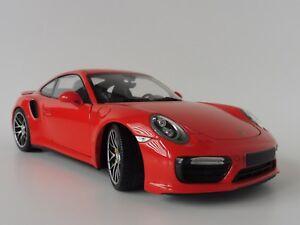 Porsche-911-TURBO-S-2016-Arancione-991-Minichamps-110067120-Pma