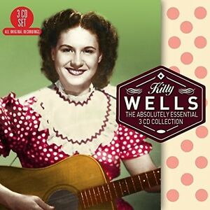 Kitty-Wells-Absolutely-Essential-3-CD-Collection-New-CD-UK-Import