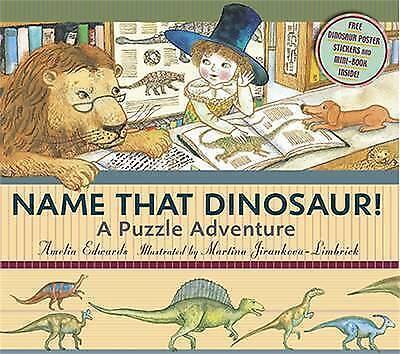 1 of 1 - Name that Dinosaur!, Edwards, Amelia, Jirankova-Limbrick, Martina, New Book