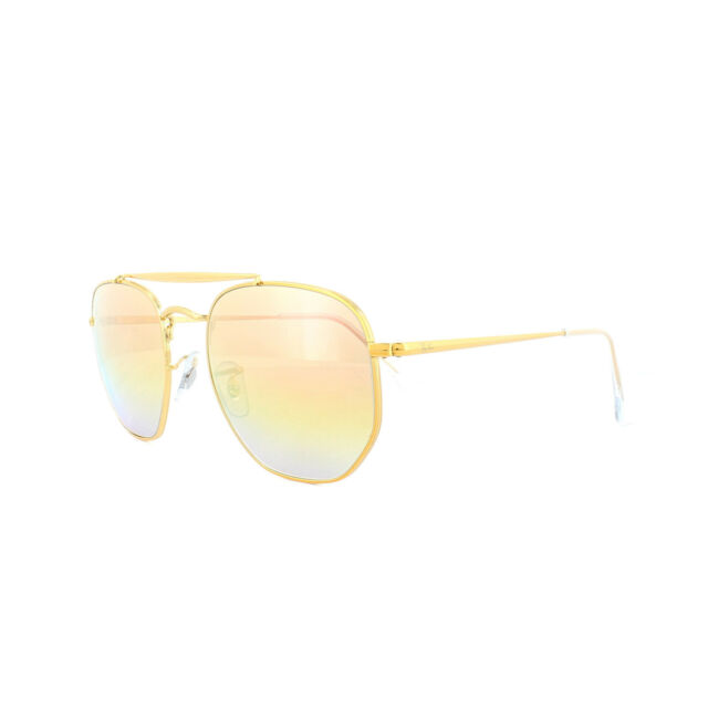 aa2c76178a Ray-Ban Sunglasses Marshal 3648 9001I1 Bronze Copper Pink Gradient Mirror