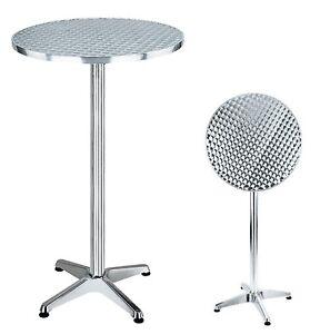 Tavolo Tavoli in alluminio pieghevoli da bar 60x100h | eBay