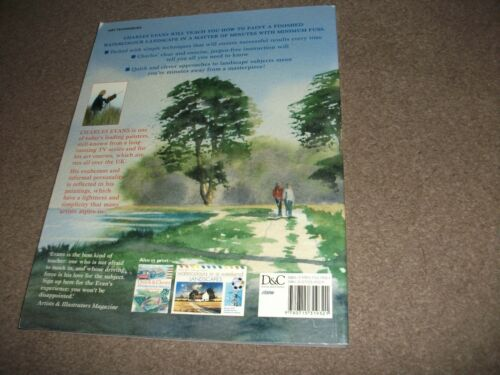 1 of 1 - Quick and Clever Watercolour Landscapes by Charles Evans (Paperback, 2006)