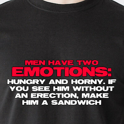 Im Either Hungry Or Horny Make Me A Sandwich T-SHIRT Humor birthday fashion gift