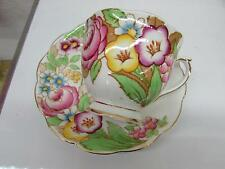 Royal Albert Fine Bone china Tea Cup & Saucer Bouquet Hand Painted Flowers