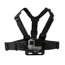 Petto Cinturino Regolabile Harness Mount Holder Per Gopro HD Hero 1 2 3 3 + 4 TELECAMERE