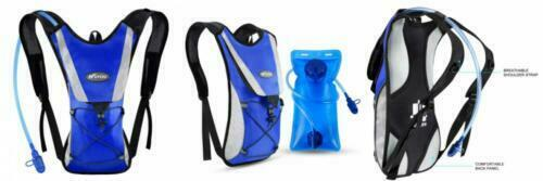KUYOU Hydration Pack,Water Backpack with 2L Water Bladder Perfect for Blue