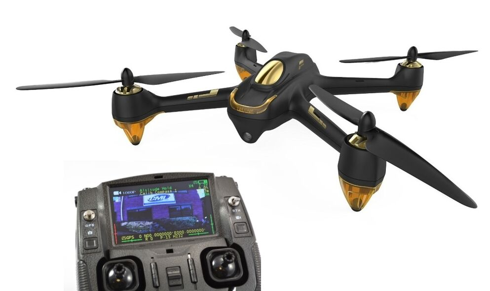Hubsan 501 X4 Fpv quadricóptero Drone Negro Gps Rth, Sígueme, sin cabeza, 1080p Ca
