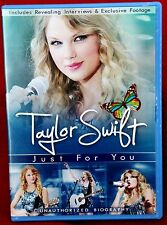 TAYLOR SWIFT ~  JUST FOR YOU ~ DVD~ 2011 ~  EXCELLENT CONDITION