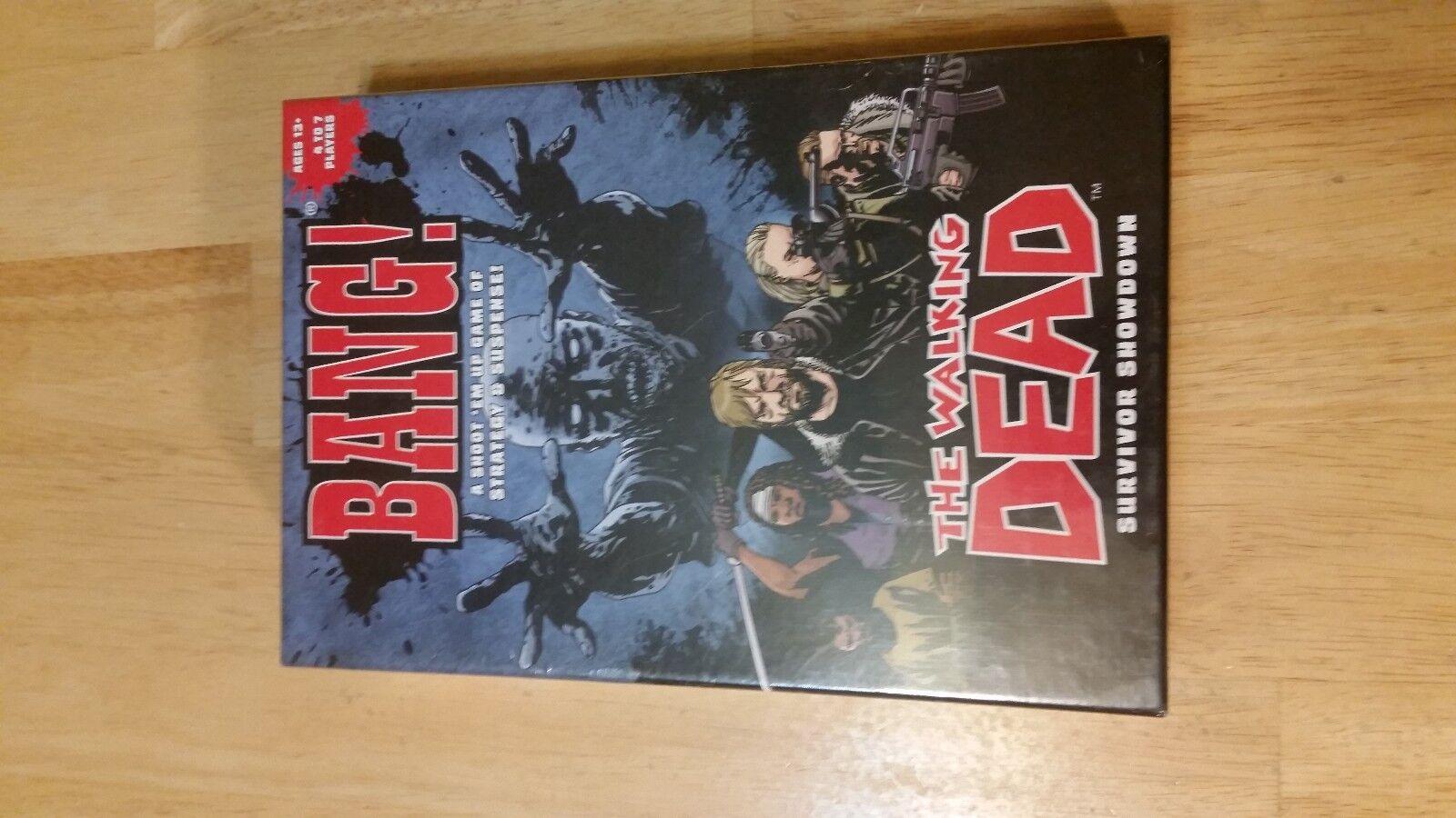 BANG  The Walking Dead Survivor Showdown USAopoly & Blizzard