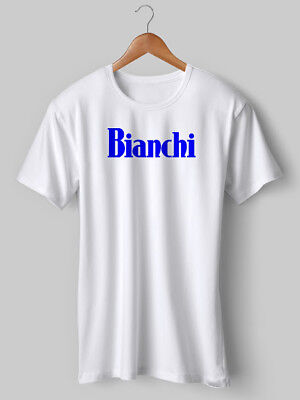 Bianchi T-shirt Ciclismo T Shirt Stampati Vintage Bici Retro Stampato Jersey Mod.-