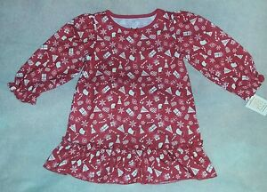 72e02b8db9d4 NEW Carter s Just One You 3T Toddler Girl s Christmas Nightgown